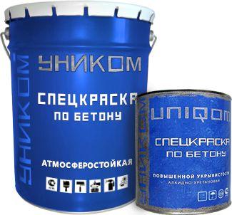 Краска 'Уником' для бетона